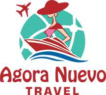 Agora Nuevo Travel Logo