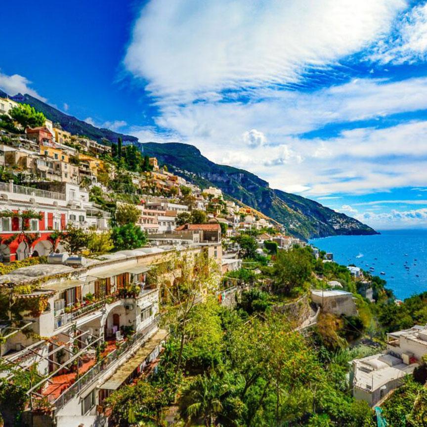 Amalfi- Coast Italy
