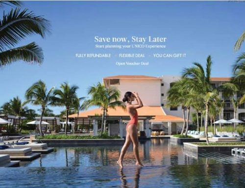 COUPLES, EXCITING NEWS! Save Now, Travel later with luxury adults-only UNICO 20°N 87°W – Riviera Maya 2020-2021